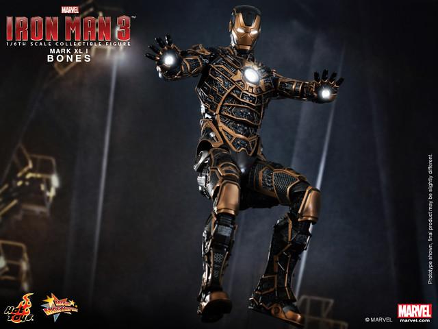 Hot Toys - Iron Man 3 - Bones (Mark XLI) Collectible Figure_PR6