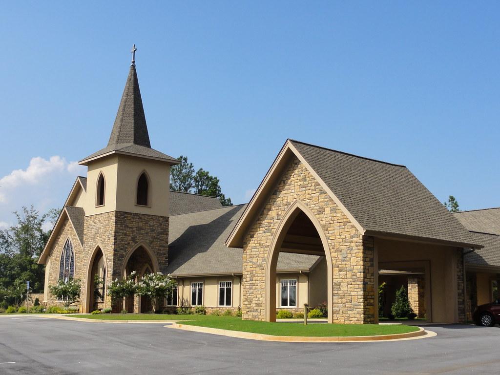 Exterior design massmann studios a church design and for Church exterior design