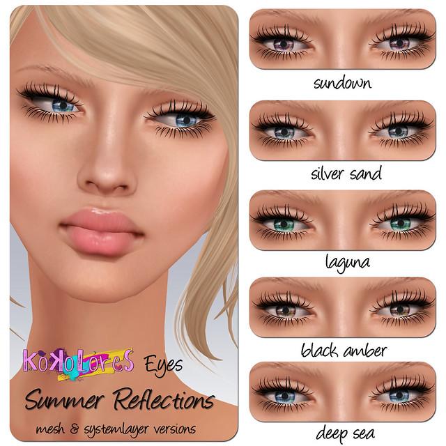 [KoKoLoReS] Eyes - Summer Reflections