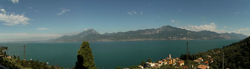 View of the lake from Pai di Sopra