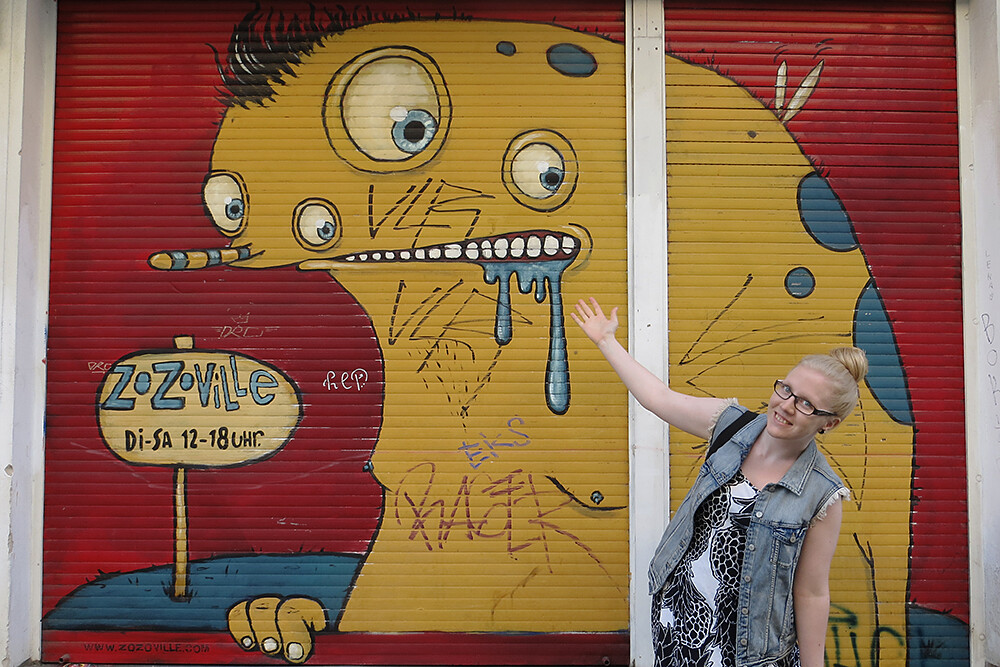 turisti Berliinissä