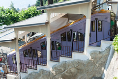 The case of the color-shifting funicular