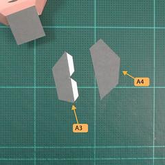 วิธีทำของเล่นโมเดลกระดาษซุปเปอร์แมน (Chibi Superman  Papercraft Model) 008