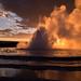 Eruption des Great Fountain