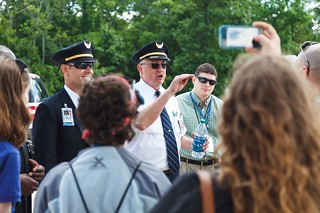 United Airlines Pilots speak at Become a Pilot Day 2014