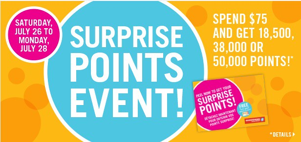 Shopper's Drug Mart Surprise Points Event