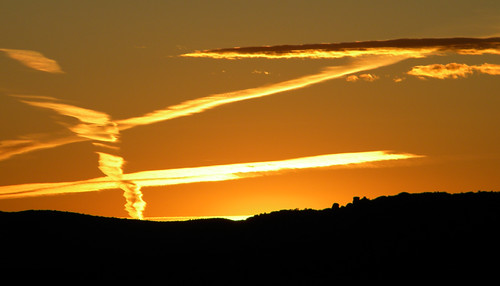 Zorro slashes the sky with a flaming 'Z' above Arches National Park