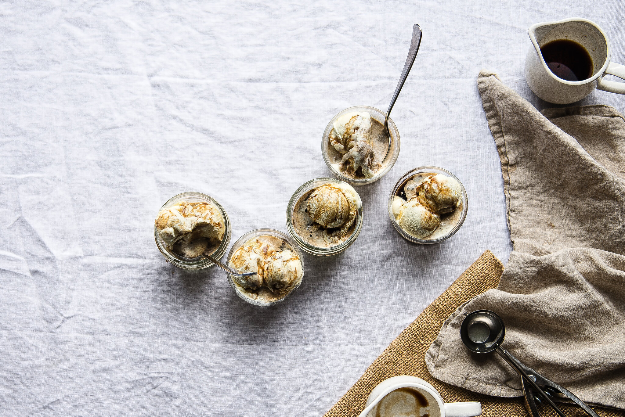 cold brew affogato, for verily magazine