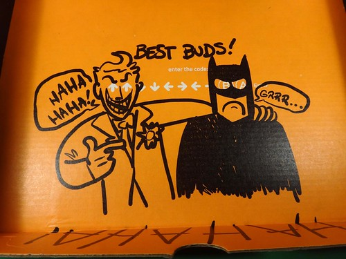 July 2014 Loot Crate: Villains box closeup
