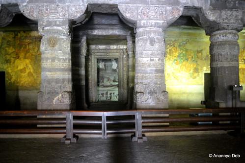 Cave 1, Ajanta, July 2014