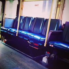 Hipster Bus #quornflour #bus #publictransportation #feelingminnesota #lowertown #green #blue #carfree #hipster
