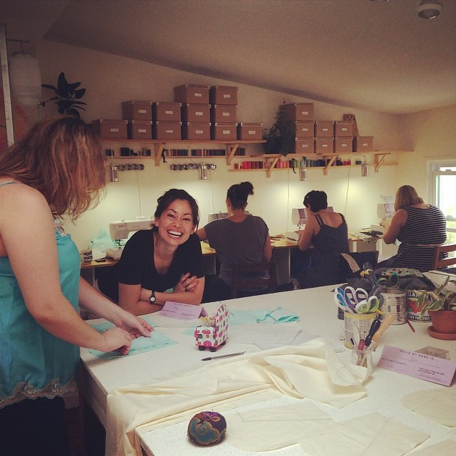 Ain't no party like a pants party  #workroomsocial #singersewing