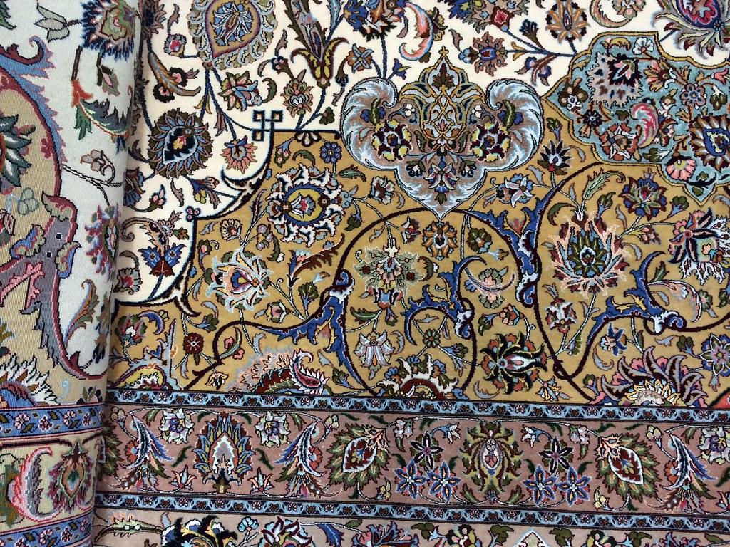 Mashhad 100 Raj 10x14 Samirad Design Silk Base Extremely Fine