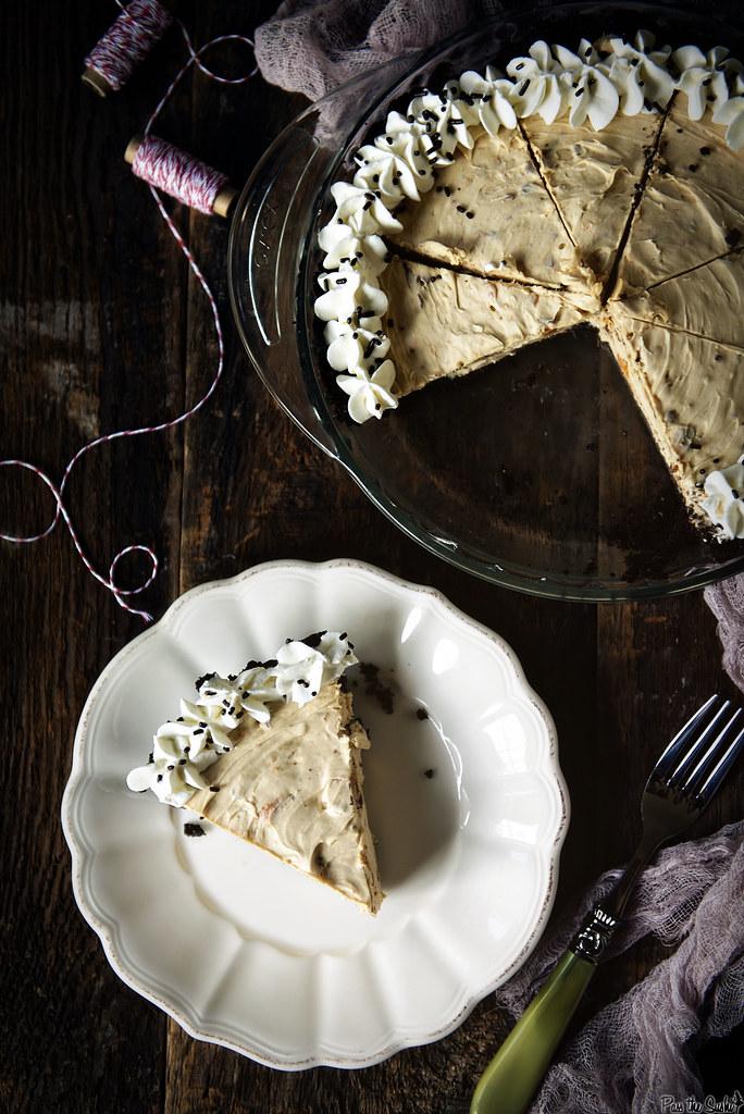 Double Peanut Butter Butterfinger Pie