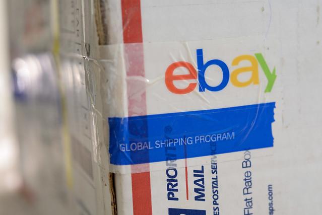 用 ebay 的貼紙封裝