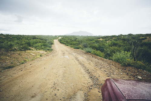 Photo _ Driving the East Cape of Baja en route to Cabo Pulmo _ Photo by Richard Giordano