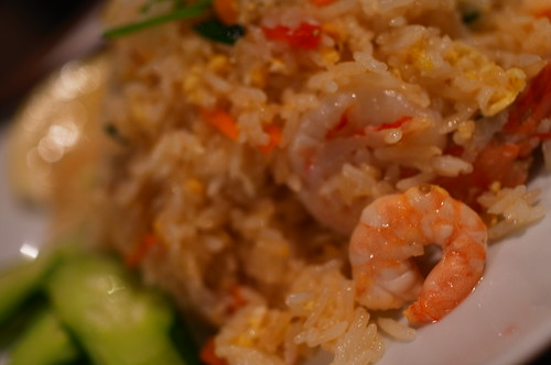 fried rice (Kao Pad Gung)