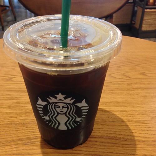 カフェイン補給(^o^)
