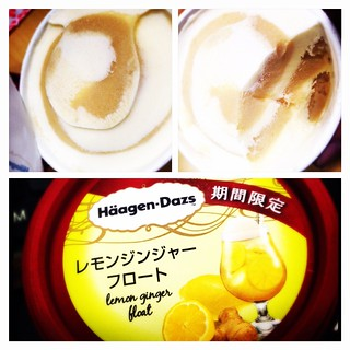 期間限定 lemon ginger float!