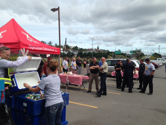 BBQ @ Operation Lifesaver Trespass Outreach Event in Saint John, NB