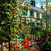 In Claude Monet's garden, Giverny, France ©Agent Smith