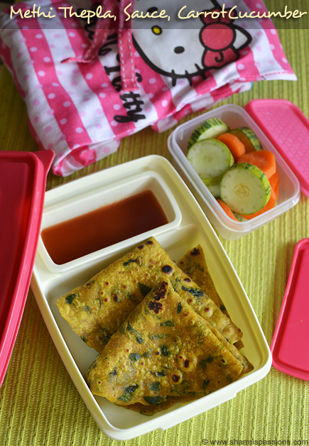 Methi Thepla Lunchbox