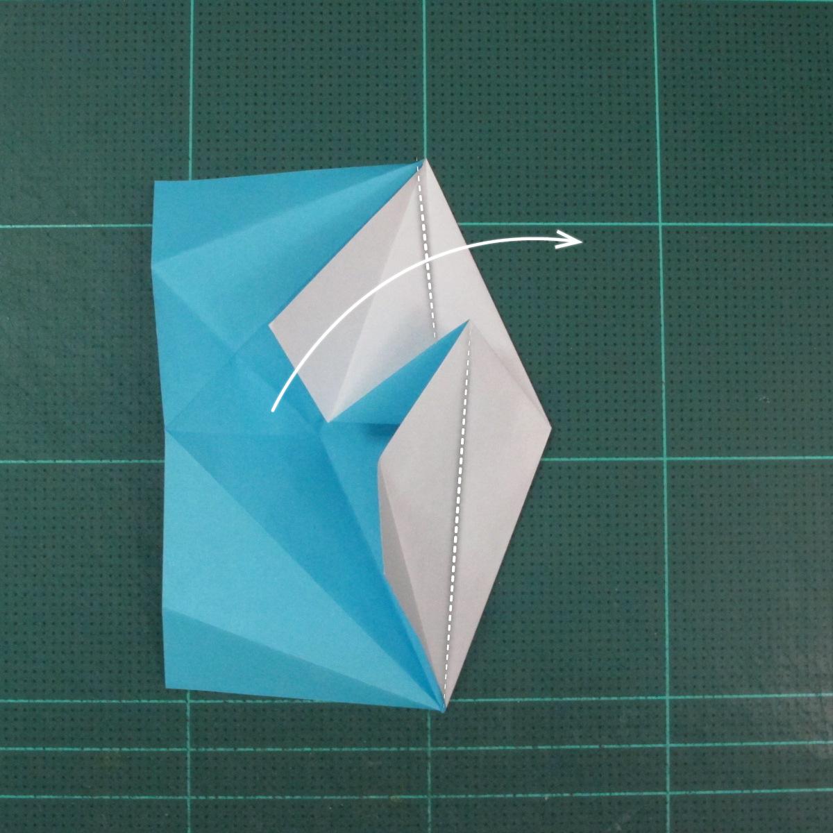 วิธีพับกระดาษเป็นถาดใส่ขนมรูปดาวแปดแฉก (Origami Eight Point Star Candy Tray) 010