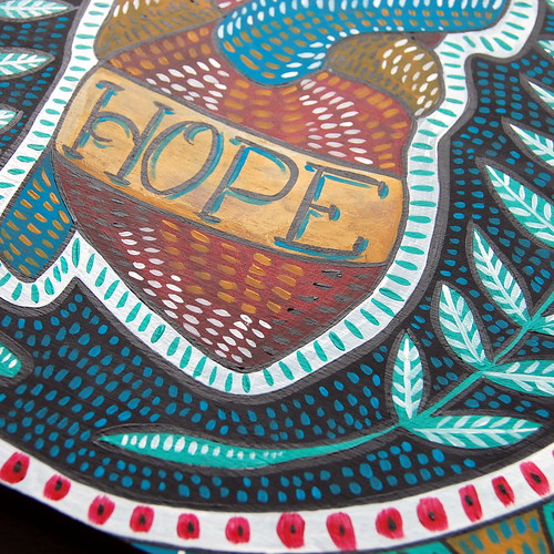 Hope Painting Detail