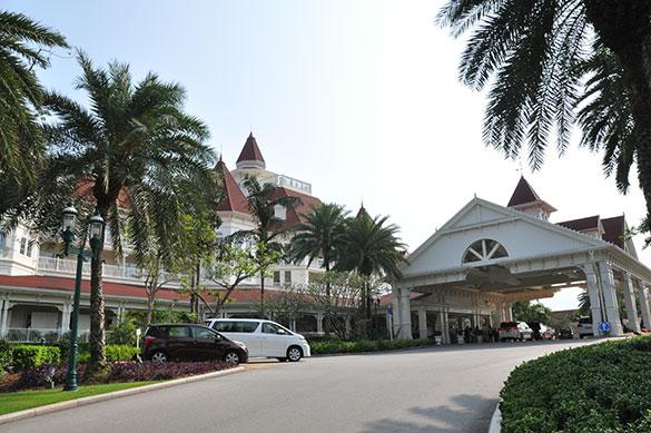 香港ディズニーホテルでアフタヌーンティー