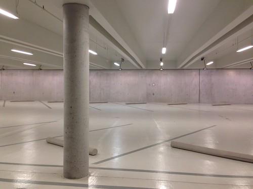 Kimbell Art Museum: Garage