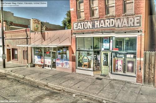 hardwarestore colorado co eaton hdr liquorstore panamerican poulsen photomatix gsv googlestreetview panamericantrek