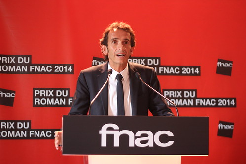 Alexandre Bompard - Prix du Roman Fnac 2014