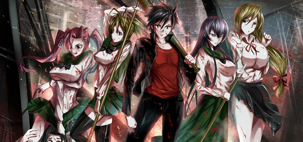Xem phim Highschool of the Dead - High School of the Dead | Gakuen Mokushiroku: Highschool of the Dead Vietsub