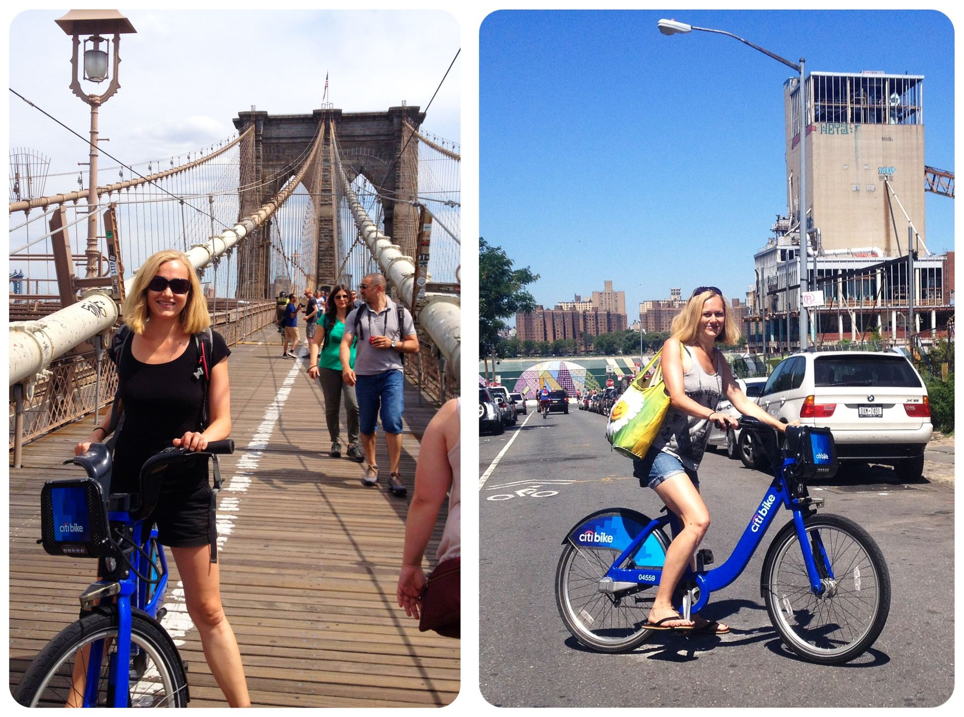 Citibiking around New York