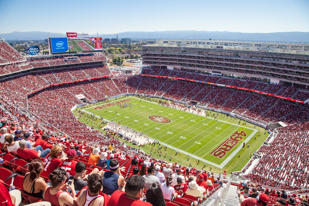 Levi's Stadium from the upper deck