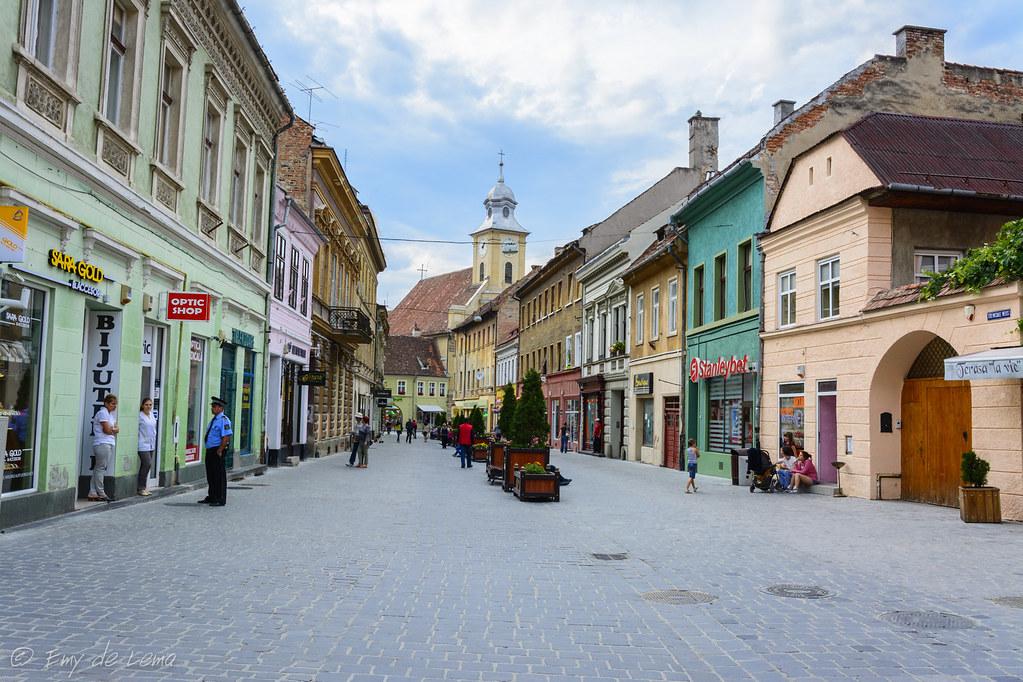 Rumania Brasov zentrum