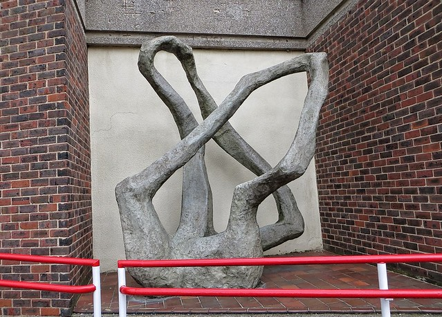 Sculpture at the health centre
