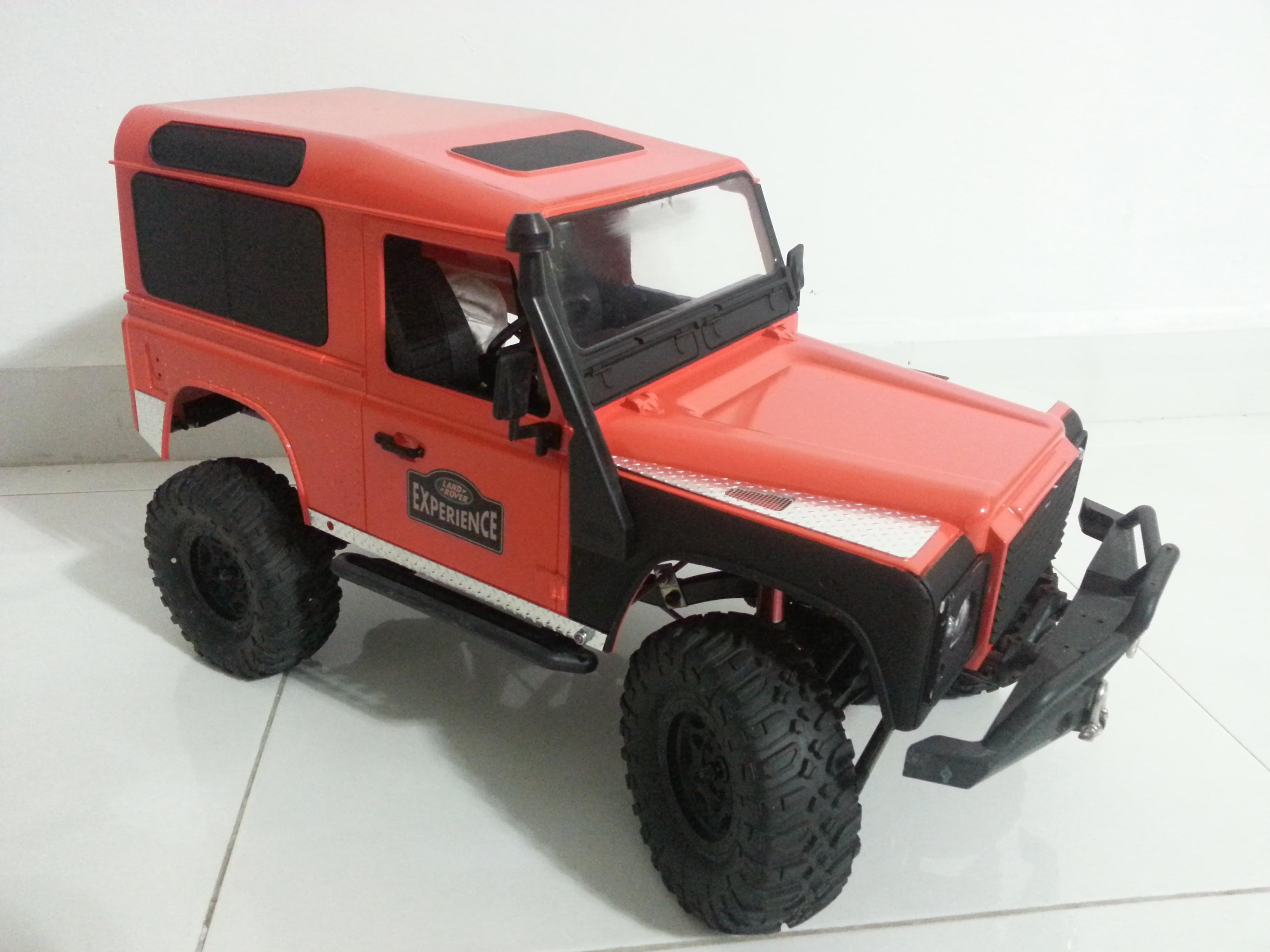 rover - Babyboy's 2nd Land Rover Defender D90 14981725955_f55d8ffa4c_o