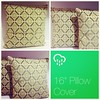 """16 pillow cover, envelope closure"