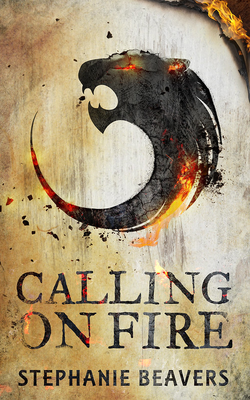 damonza stephanie beavers callingonfire calling on fire novel fantasy cover
