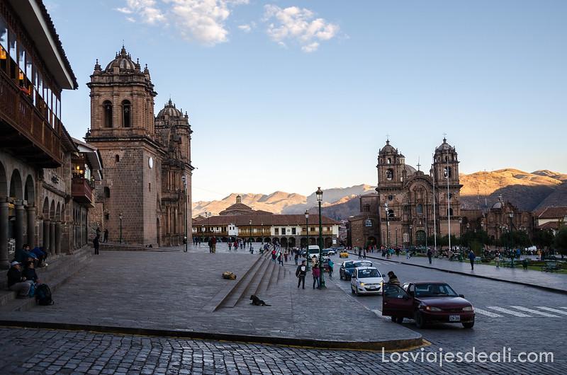plaza de Cuzco