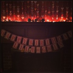 If the banner is up it must be official !  Happy Birthday @thesecoundawesomeone2 and @whitetiger42   May fluttering hearts and twinkle lights light your path wherever you go. #happybirthday #wheredid13yearsgo?