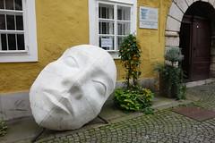 Face in Ljubljana