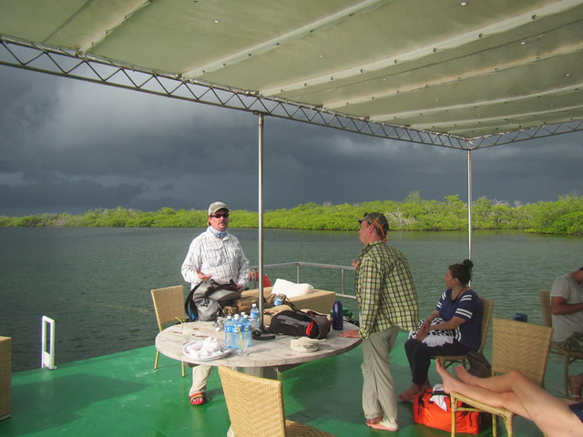 Storm coming fast on the Tortuga