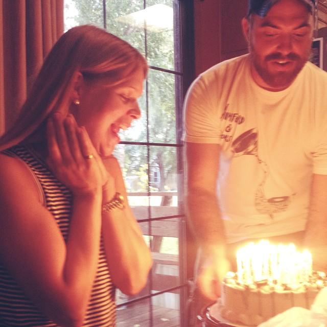 They got me an ice cream cake ❤️ #happybirthday