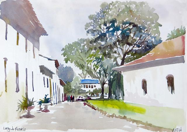 Largo do Rozario - Paraty, BRA