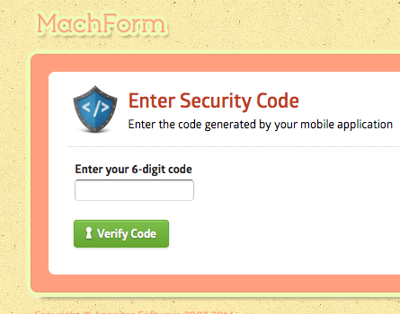 2-Step Verification for Login | HTML Form Builder Online, PHP Form