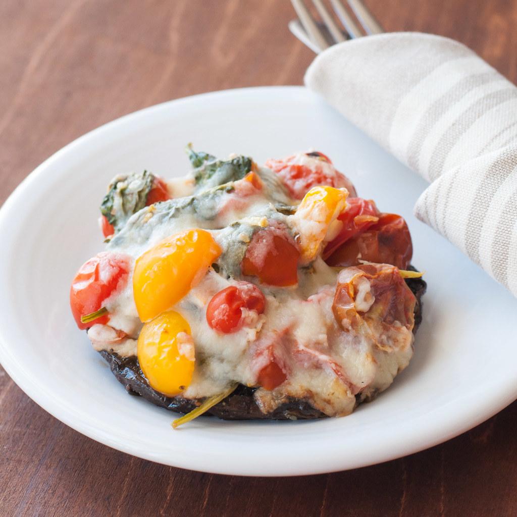 Portobello Fresca Melt white plate