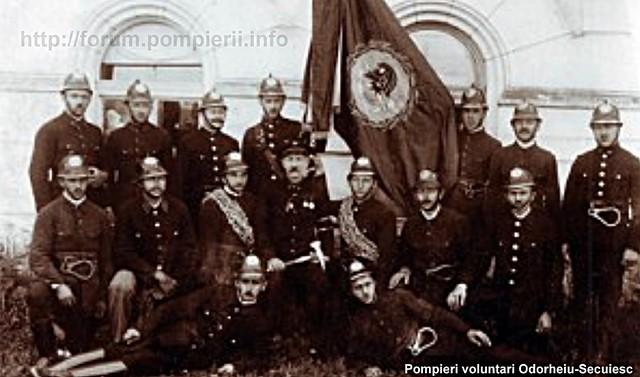 Pompieri voluntari Odorheiu-Secuiesc / anii 20