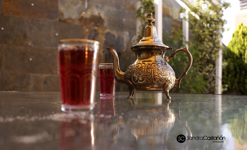 bodegón té